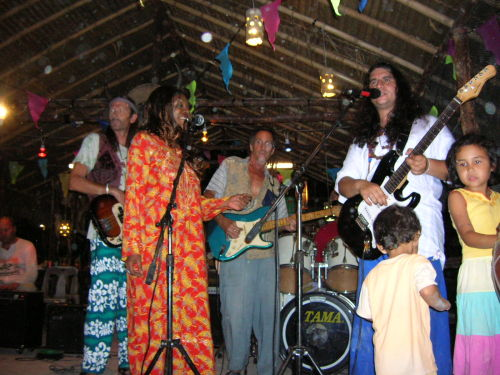 Hippy Band onstage
