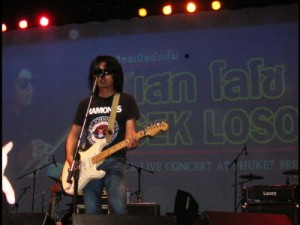 "Sek Loso at ""Phuket Brewery"" May 1,2009"